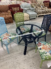 Table 4 chairs coastal