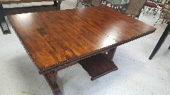 Counter Height Dining Table (Burnished Oak)