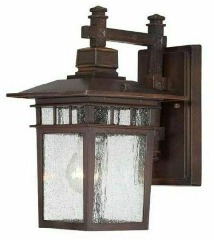 NEW Nuvo Lighting 60\/4952 One Light Outdoor Wall Mount-Bronze Finish