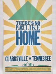 Hatch Show Print - There's No Place Like Home