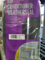 Air Conditioner Weatherseal Lg. Gaps