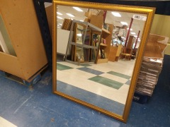Gold Framed Mirror 35\