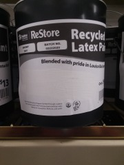 1 Gallon Restore Paint (Snowy Day)