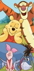 Disney Beach Towel (Winnie the Pooh)