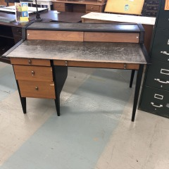 Drexel Leather top Desk item 72