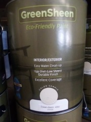 Green Sheen 1 gallon Cream