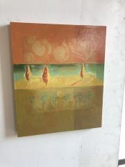 Green and Orange Painting item113