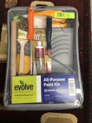 10pc Paint Kit