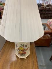 Lamp with Chrysanthemums item 195