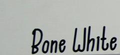 Bone White\/Flat