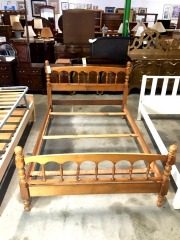 Wood Full Size Bed Frame