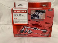 Craftsman Ratcheting Tap and Die Set