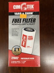 Yard and Farm Fuel Filter