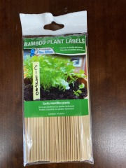 Bamboo Plant Label