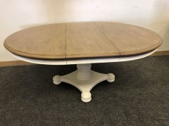 NEW White Oval Table