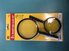 2pc Magnifying glass