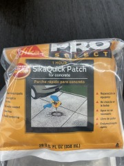 1 Hour Sika Quick Patch for Concrete