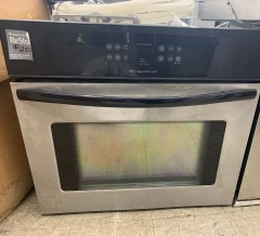 Stainless steel Frigidaire oven