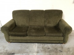 GENTLY USED Green Couch