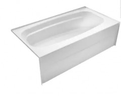 NEW Delta White Acrylic Bath Tub