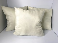 White indoor throw pillows
