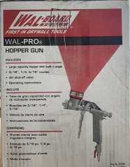 Wal-PRO Hopper Gun