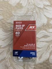 1\/8\u201d BACK-UP PLATES 40pack