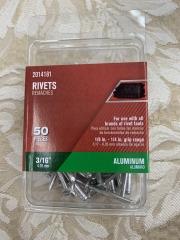 3\/16\u201d ALUMINUM RIVETS 50pack