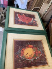 SET of boutique framed art