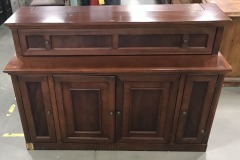 Brown Lift TV Stand