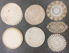 Lace Pot Holders and Doilies