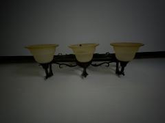 Ornate 3 Light Vanity Bar