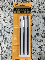 3 pc Artist Brush