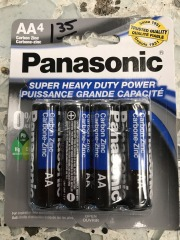 Panasonic AA 4 pack HD