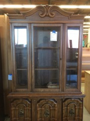 China Hutch with glass shelves