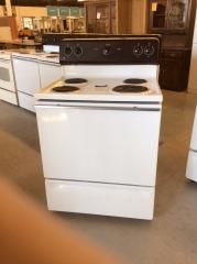 GE electric 4 burner stove