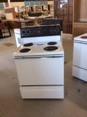 GE electric stove 4 burners