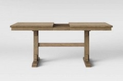 Cloverhill Farmhouse Natural Dining Table with Ext. Leaf