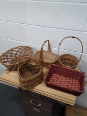 Small Assorted Wicker Baskets