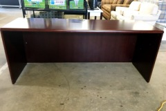 BRAND NEW 6' x 2' Office Credenza Shell (Cordovan)