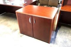 BRAND NEW 3' x 2' 2-Door Storage Cabinet (Toffee)