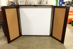 BRAND NEW 4' x 4' Presentation Board (Cordovan)