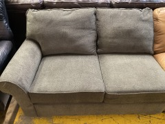 Grey sectional 2 seat section