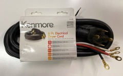 Kenmore 6ft Electrical Dryer Cord