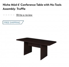 Niche Mod 6' Conference Table