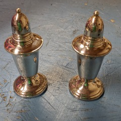 Crown Sterling Salt and Pepper Shakers