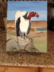 Vulture Painting