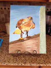 Hawk Painting