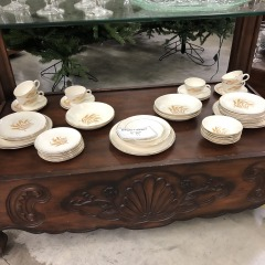 Home Laughlin Golden Wheat Dishes - HOUSEWARES