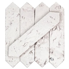 Artisan Glazed Bianco Tile - Sold by the Carton